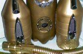 Steampunk Sky Raider Jetpack con MP3, LEDs y máquina de humo