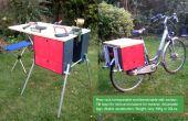 Cómo llevar un taller sobre el bastidor trasero de mi bicicleta.