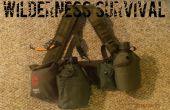 Kit de supervivencia de estilo militar