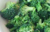 Caliente de sésamo brócoli