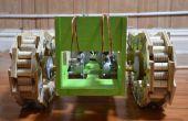 Robot tanque hecho desde cero
