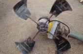 Cómo para aerogenerador hecho de chatarra...