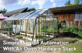 Automatización de jardín simple con una pila de Hardware abierto