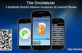 Droidalyzer - una fuente abierta, Bluetooth accesorios de detector de alcohol para teléfonos Android