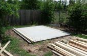 Cómo construir un almacenaje durable arrojar