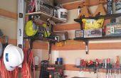Organizar tu taller con estantería modular de bajo costo (también conocido como la Cala del francés).