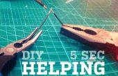 ¿Ayuda bricolaje manos en 5 segundos