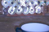 Horno solar plana y portátil (con CDs) - Horno solar plano y transportable (usando CDs como espejos)