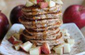 Panqueques de manzana avena proteína