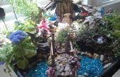 Jardín de hadas mágico con un presupuesto de hadas