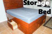 Cama del almacenaje: Reclamar el espacio inusitado! (Capitanes de cama)