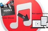 Importación de películas a dispositivos no Apple en iTunes 12