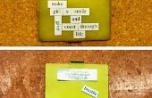 """El """"monedero de la Magni-caso"""" (diseño minimalista, nota funciones y protección de RFID) - hecho @TechShop"""