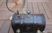 Radio diseño Steampunk del tubo