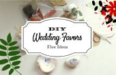 Favores de la boda baratos y creativo DIY
