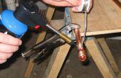 Como sudor (soldadura) de tubo de cobre