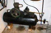 100 libras de propano tanque compresor de aire casero