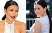 Cómo hacer una cola de caballo elegante (Kim Kardashian)