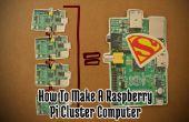 Cómo hacer un superordenador de frambuesa Pi!