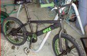 Como pintar una bici del BMX