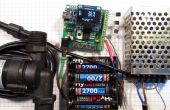 Controlador de colector solar de agua caliente con termostato v1.23
