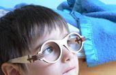 Gafas plegables de madera corte láser