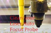 Láser grabador Auto foco sonda - limpieza