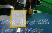 Su impresora 3D dibujar cosas