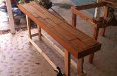 Mesas de sofá de palets