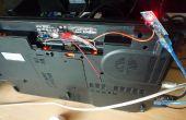 Giro de ventilador ruidoso del ordenador portátil