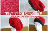 Sombrero flexible – gratis ganchillo patrones de onda