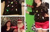 Suéter de Navidad renos hortera