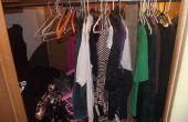 Cómo convertir un armario en un lugar fresco.