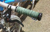 Puños de bicicleta de montaña de cuero