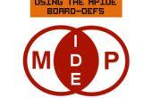 Utilizando el tablero-Defs MPIDE