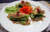 Panqueques de papa alemanas - receta Kartoffelpuffer. Sin gluten, orgánicos y sabroso! Salado y dulce.