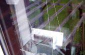 Asiento de ventana cargador solar