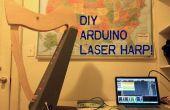 Arpa láser de Arduino