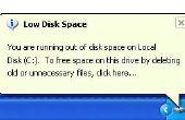 Rápido y fácil ilimitado espacio en disco del ordenador portátil