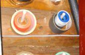 Pintura Pincel pasador herramienta suspensiones de espuma