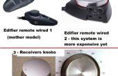Los altavoces del ordenador: Por cable control remoto de volumen con casquillo del perfume