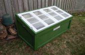 Construir un marco frío usando viejas ventanas