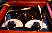 Construir una radio de cristal estilo antiguo