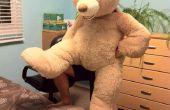 Disfraz de oso de peluche