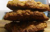 Nuez y galletas de avena azúcar moreno