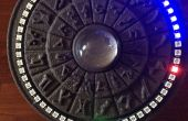 Stargate inspirado Arduino NeoPixel 3D reloj impreso