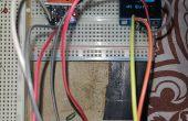Analizador de aliento con OLED lcd y sensor de gas MQ3
