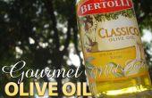 Gourmet de aceite de oliva sin un helado heladora