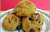 Miedo fácil calabaza Chocolate Chip Cookies