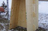 Diapositiva de carriles de madera contrachapada, o cómo construir con madera contrachapada y (casi) sin los sujetadores